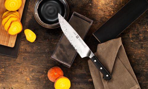Comment affûter un couteau de cuisine avec un wok